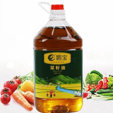 鹮宝 【30天新油】洋县纯香菜籽油5L装
