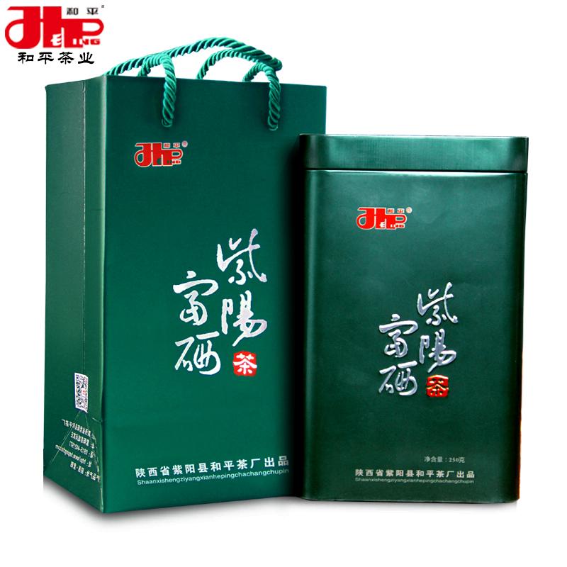 2018新茶 安康富硒绿茶 清香型高山云雾茶叶 罐装半斤