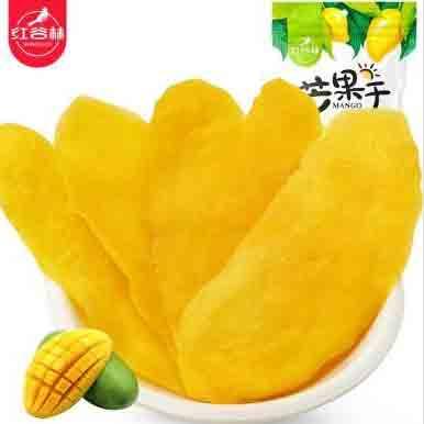 红谷林 休闲零食芒果干100g 水果干