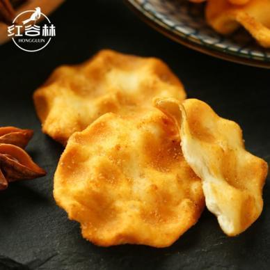 红谷林 石头饼手工石子馍速食早餐零食饼干100g