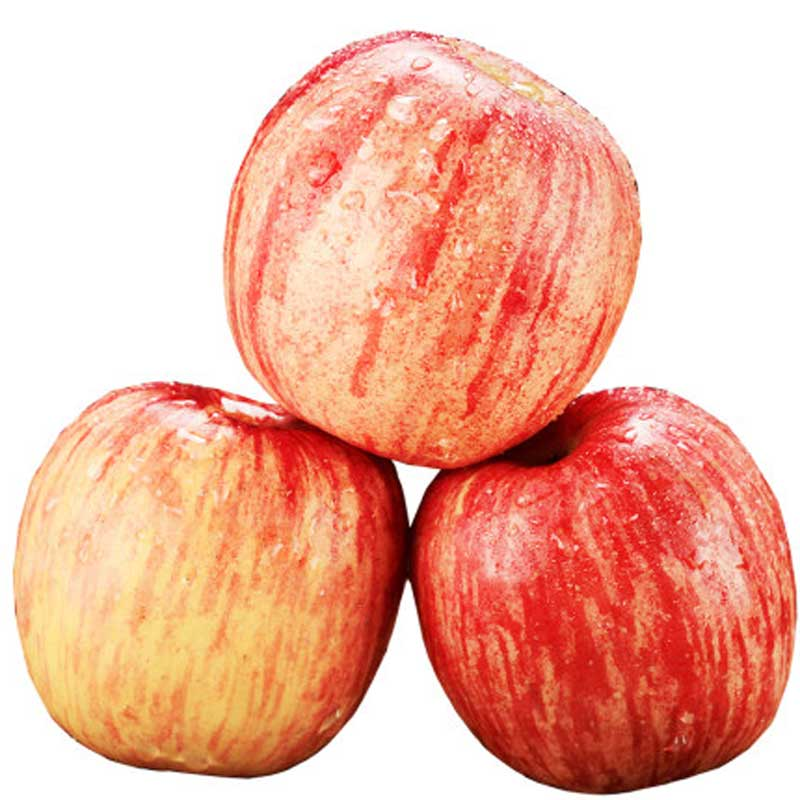 陕西洛川苹果水果新鲜整箱当季红富士包邮